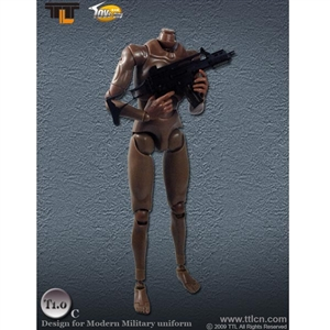 TTL Toys Action Figure Male, Brown (Modern) (TTL-T1.0C)