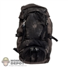 Pack: ThreeZero Walking Dead Weathered Black Backpack