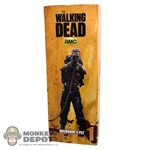 Display Box: ThreeZero The Walking Dead Michonne's Pet #1 (EMPTY)