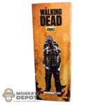 Display Box: ThreeZero The Walking Dead Michonne's Pet #2 (EMPTY)
