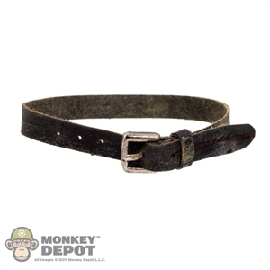 Belt: ThreeZero Walking Dead Brown Weathered Belt