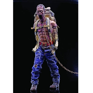 Boxed Figure: ThreeZero Walking Dead Pet Zombie Red