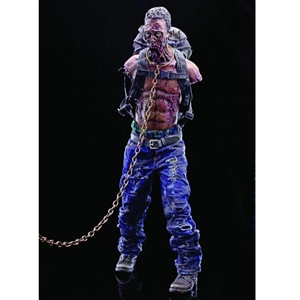 Boxed Figure: ThreeZero Walking Dead Pet Zombie Green