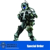 Boxed Figure: ThreeZero TITANFALL IMC Battle Rifle Pilot