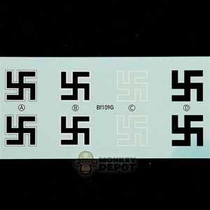 21st Century Toys 1/18 Bf109G Water Slide Decals