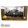 Vehicle: 21st Century 1/18 WWII US M4 Sherman Tank