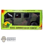 Boxed Vehicle: 21st Century Toys 1/6 M1025 Armored Recon Vehicle (12400)