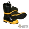 Boots: 21st Century Toys Firefighter Boots