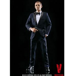 Clothing Set: Very Cool Tuxedo Suit Set Blue (VCM-3001A)
