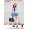 Clothing Set: Very Cool Sailor High School Outfit Light Blue/White (VCM-2014B)
