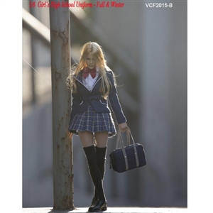 Clothing Set: Very Cool Girl's High School Uniform Set B (VCM-2015B