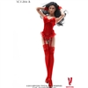 Clothing Set: Very Cool Red Corset Set (VCF-2016B)
