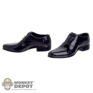 Shoes: Very Cool Black Dress Shoes (VCM-3005A)
