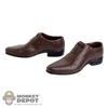 Shoes: Very Cool Brown Dress Shoes (VCM-3005B)