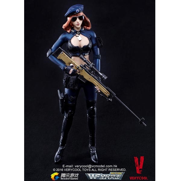 Monkey Depot - Boxed Figure: Very Cool Sniper - Little