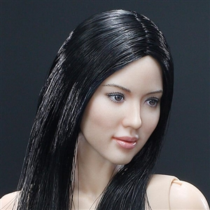 Boxed Figure: Very Cool Asian Black Straight Hair Headsculpt (VCF-X04A)
