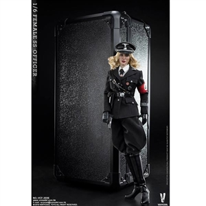 Boxed Figure: Very Cool Female SS Officer Action Figure (VCF-2036)