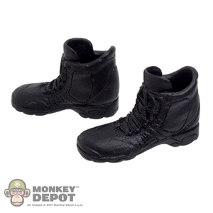 Boots: Very Cool Black Shoes