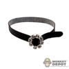 Belt: Very Cool Black Female Belt w/Jewel Buckle
