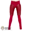 Pants: Very Cool Female Red Pants