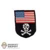 Insignia: Very Cool American Flag/Cross Bones