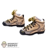 Boots: Very Cool Female Military Climbing Boots
