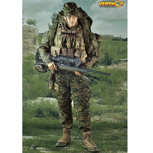 Uniform Set: Very Hot USMC M40A3 Sniper (1014-C)