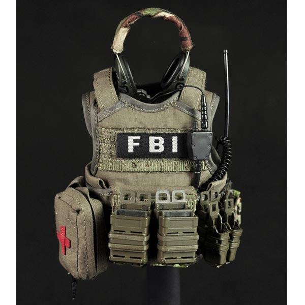 Monkey Depot - Uniform Set: Very Hot FBI 2.0 (1027) Fbi Combat Uniform