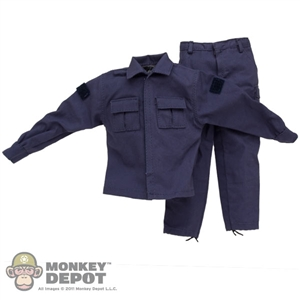 Uniform: Very Hot SWAT Blue