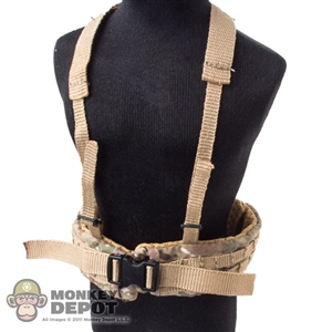 Belt: Very Hot Multicam Belt w/Harness