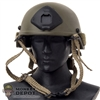 Helmet: Very Hot Kevlar Helmet OD