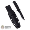 Knife: Very Hot Combat Knife w/Sheath