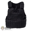 Vest: Very Hot Black MOLLE Vest