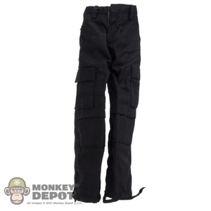 Pants: Very Hot Black Cargo Pants