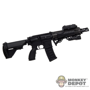 Rifle: Very Hot HK 416 w/Sight, Light, Remote, Panels & Sling