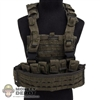 Vest: Very Hot Green MOLLE Vest