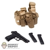 Pistol: Very Hot Beretta w/Serpa Drop Holster