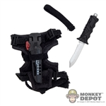 Knife: Very Hot Combat Diving Knife w/Holster