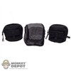 Pouch: Very Hot 3 Piece Pouch Set