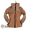 Jacket: Very Hot Tan Fleece Coat