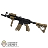 Rifle: Very Hot Two Tone M4 w/Sight, Light & Grip