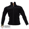 Jacket: Very Hot Black Fleece Coat