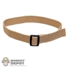 Belt: Very Hot BDU Tan Belt (Worn)