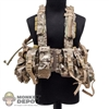 Vest: Very Hot Multi Cam Chest Rig w/Canteen Pouch