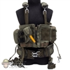Harness: Very Hot Green Chest Rig & Belt
