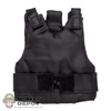 Vest: Very Hot Black Tactical Vest