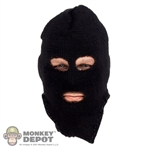 Mask: Very Hot Black 3 Hole Balaclava