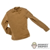 Shirt: Very Hot Brownish Long Sleeve Shirt