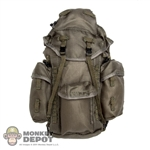 Bag: Very Hot Large Green Hiking Backpack