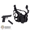 Pistol: Very Hot M9 Pistol w/Serpa Drop Holster & Mags
